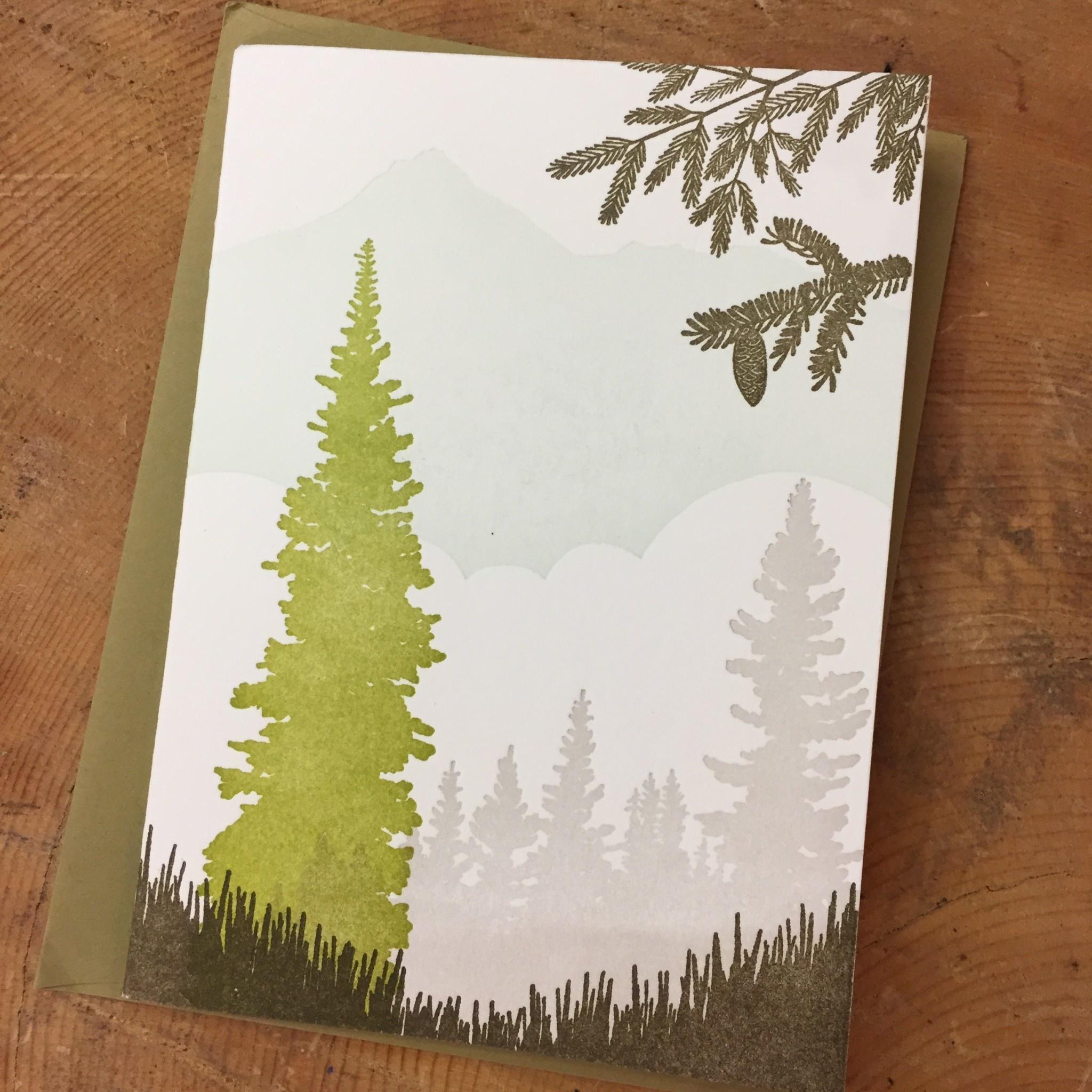 Alpine Meadows card