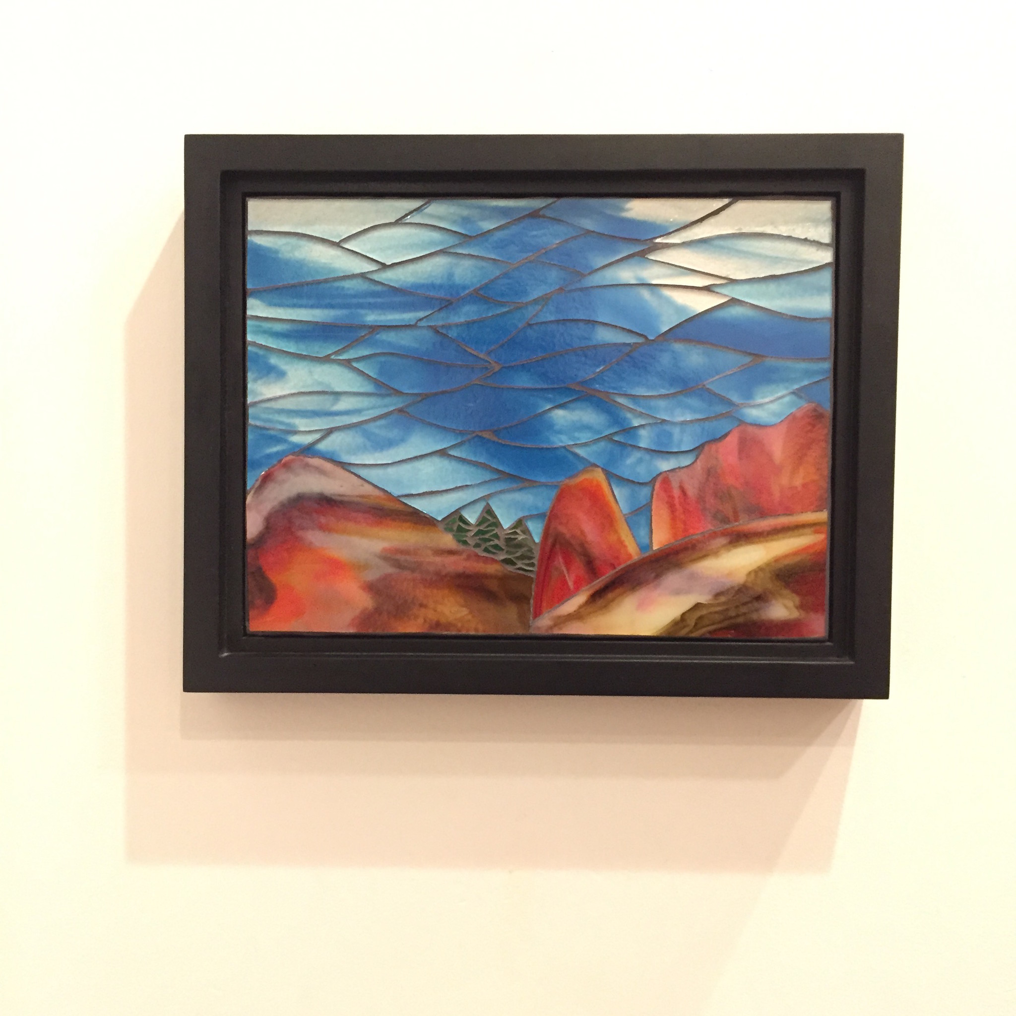 """'Early Rising"""" mosaic"""