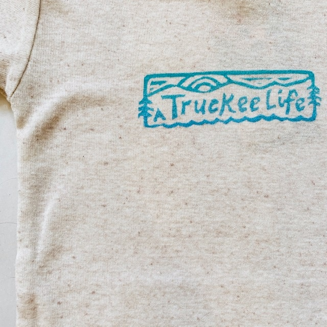 truckee Life Baby Onesie