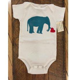 Elephant Onsie 3-6