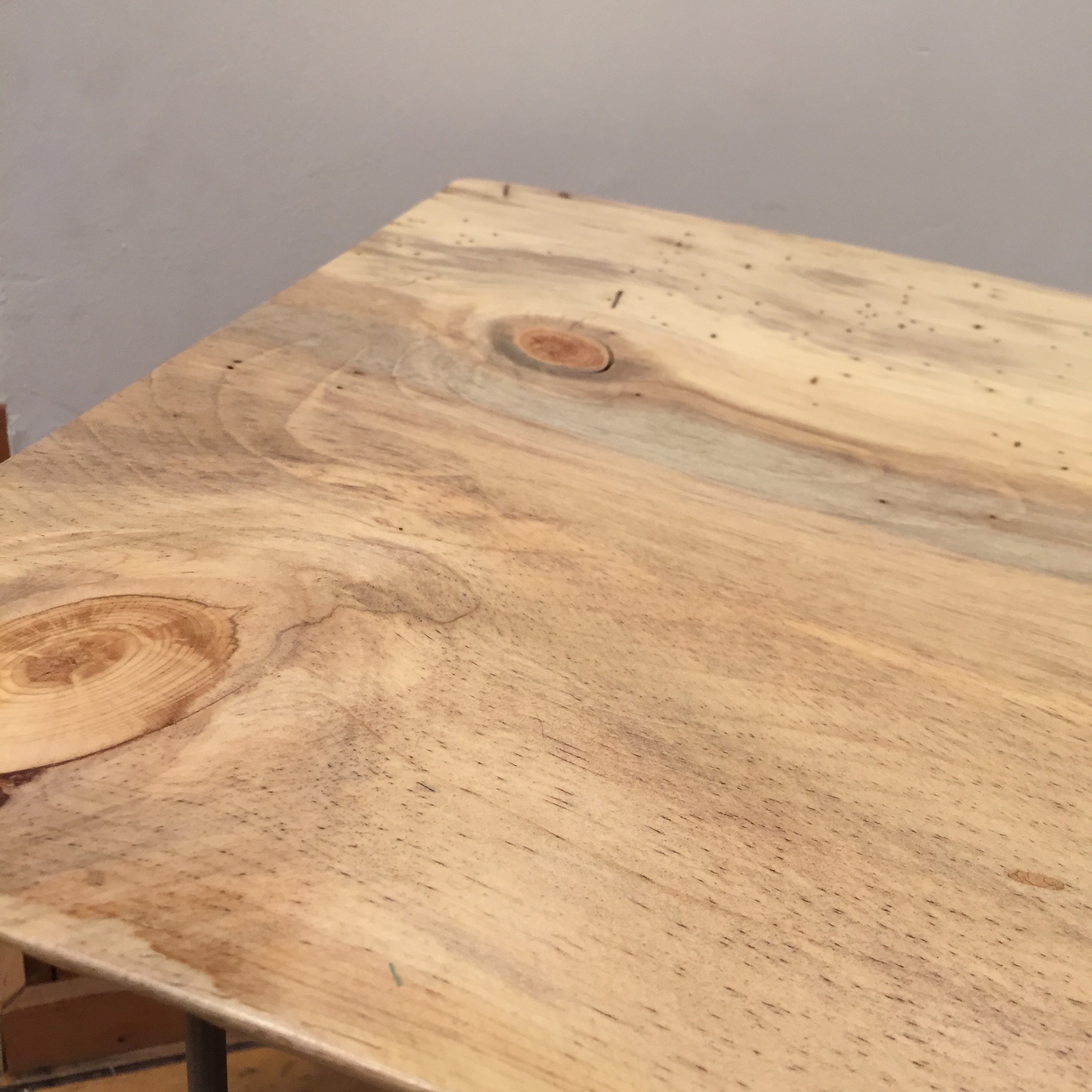Blue Pine end table