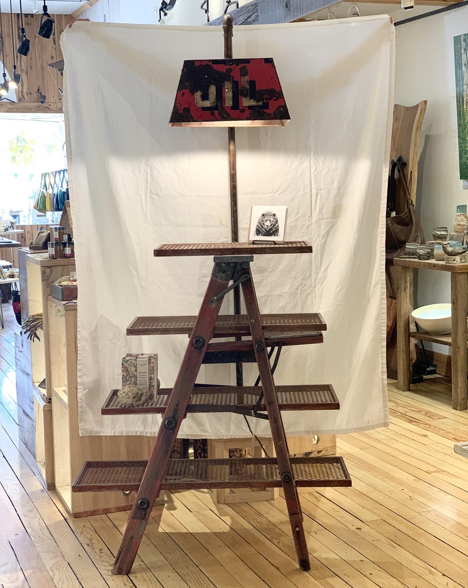 Ladder shelf Unit
