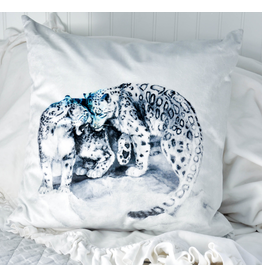 Snow Leopards Pillow