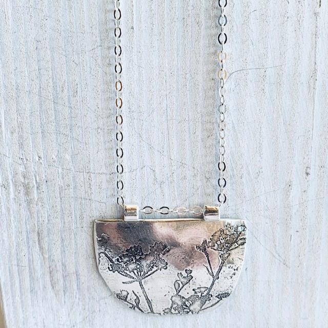 Half Round Necklace