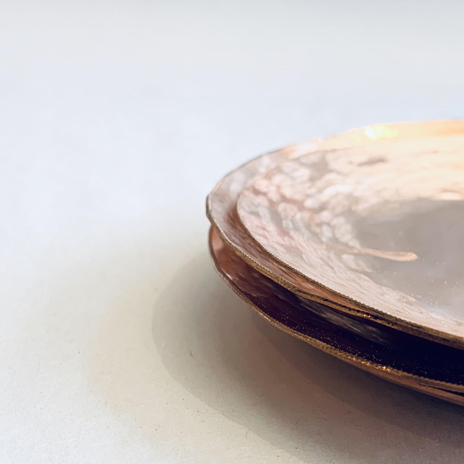 Copper Dish/Caddy