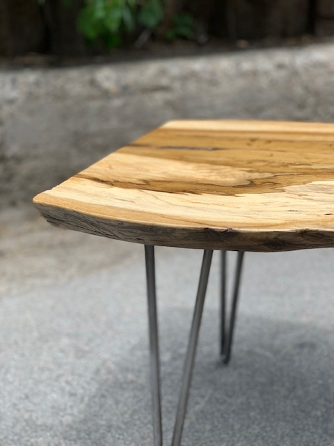 Live Edge Oak Coffee Table