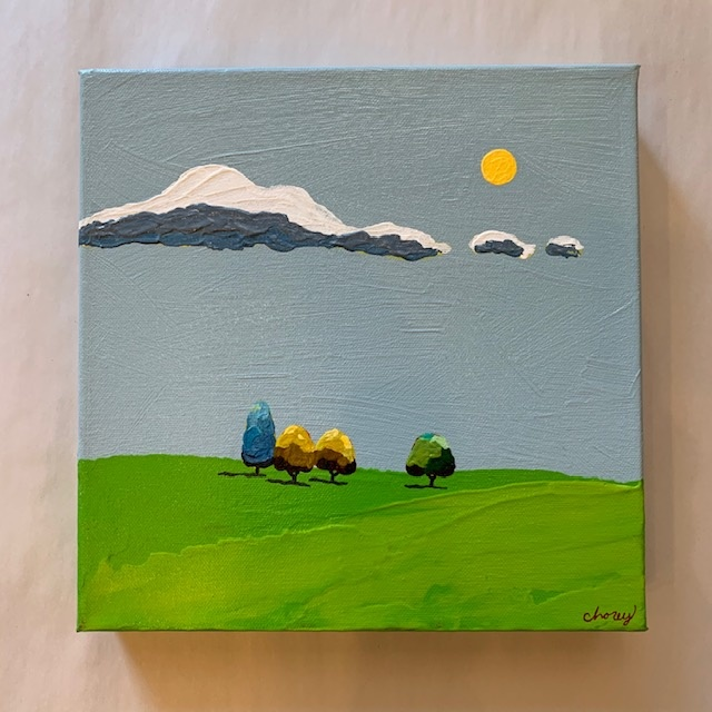 All is Calm 10x10