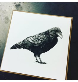 'Raven Nevermore' card