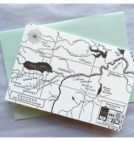 Truckee Map Card