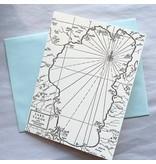 Lake Tahoe Map card