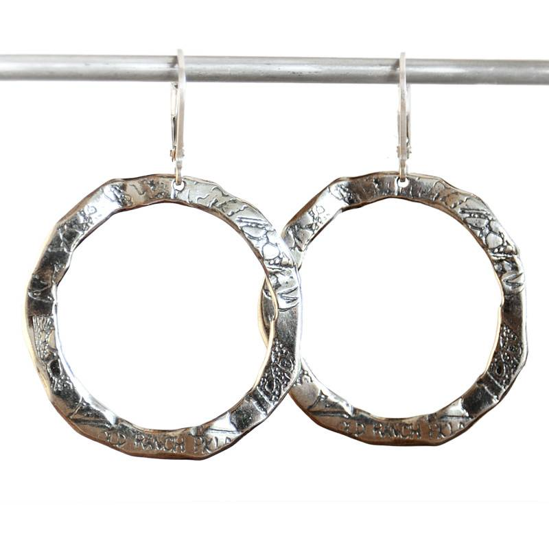 Pete's Menu Hoop Earrings