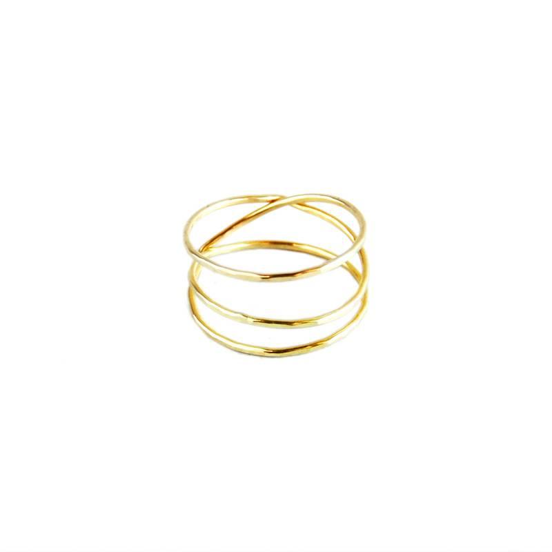 18k Gold Wrap Ring