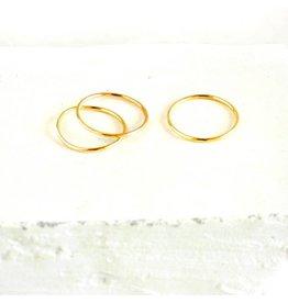 18k Gold Stack Ring