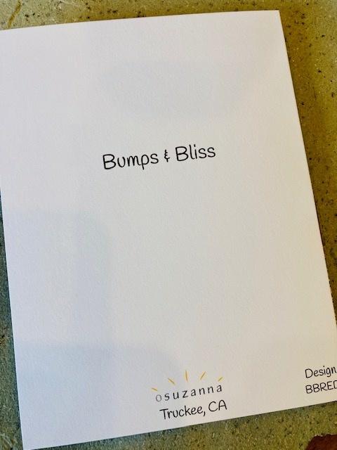 Bumps & Bliss card
