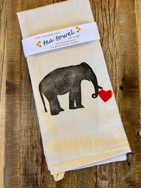 Elephant Tea Towels