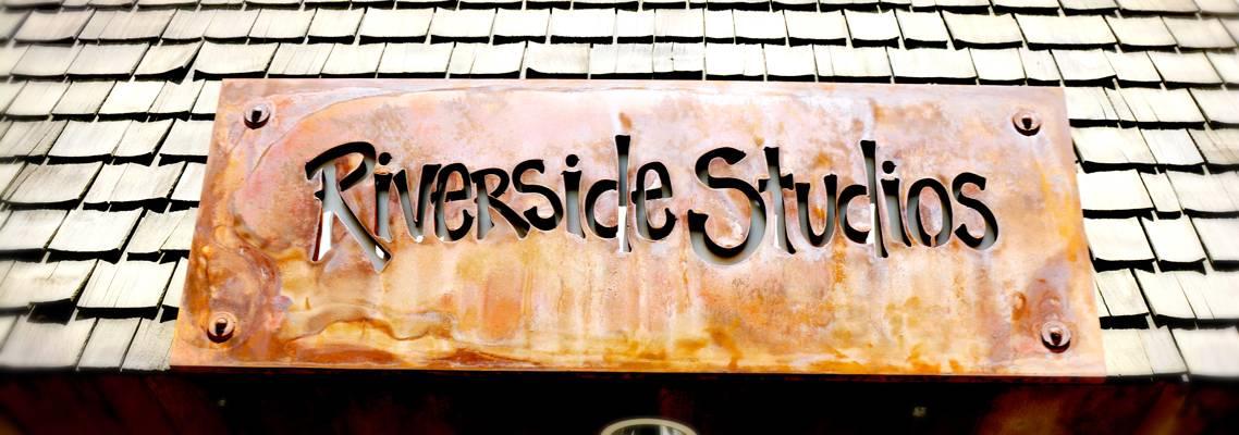 Riverside Studios Shop Sign
