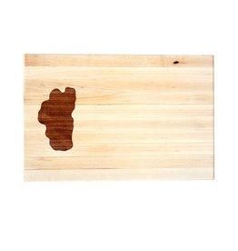 Lake Tahoe Wooden Cutting Board