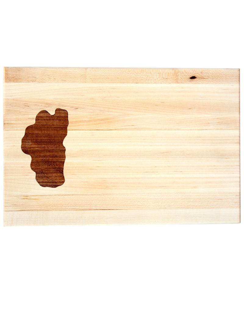 Small Lake Tahoe Wooden Cutting Board