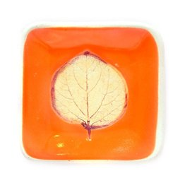 Aspen Leaf Dip Dish
