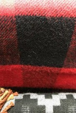 "Andean Art Alpaca Blanket, Buffalo Plaid 70"" x 52"""