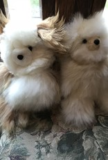 "Andean Art Alpaca Teddy Bear, 10"" Fawn/White, Fawn"
