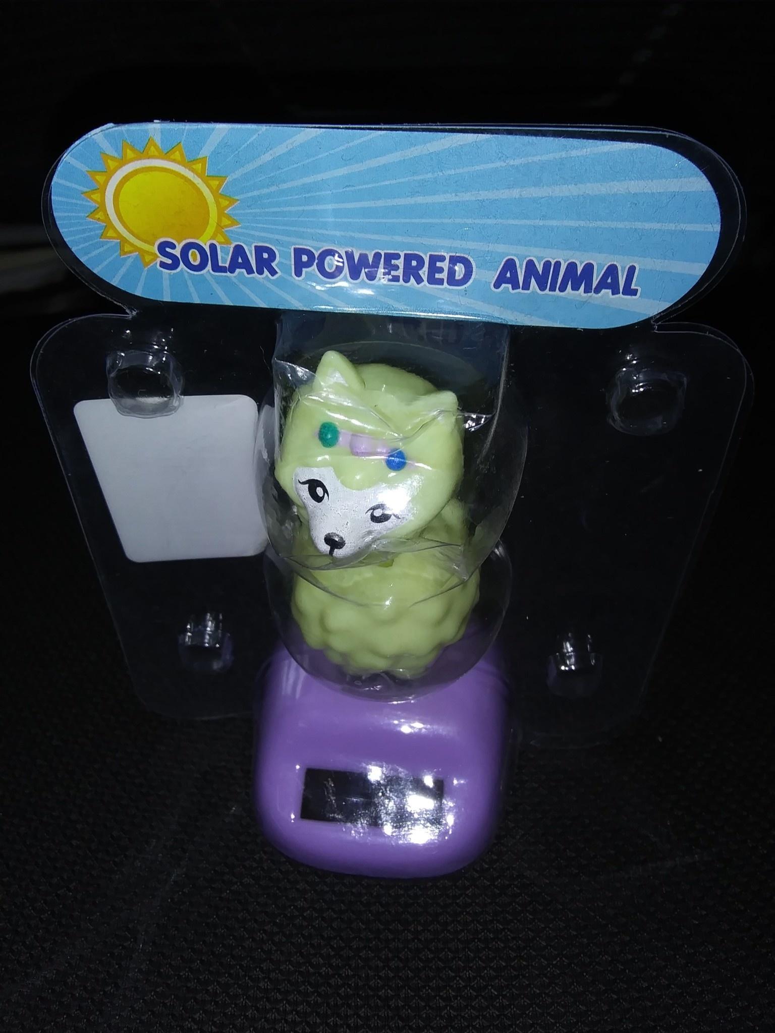 Choice Alpacas Alpaca Solar Bobble Head