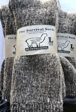 NEAFP Alpaca Socks, Survival, Gray Med (7-10)