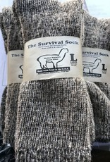 NEAFP Alpaca Socks, Survival, Mahog Red (7-10)
