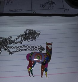Choice Alpacas Alpaca Charm Necklace