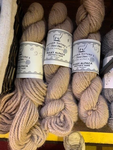 NEAFP Alpaca Yarn /Bulky Fawn