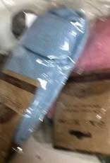 Andean Art Alpaca Socks, Women's Anklet, PInk MD/Blue L