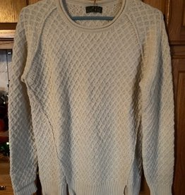 Classic Alpacas Alpaca Sweater. Natural, Pullover, XL