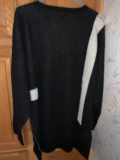 Classic Alpacas Alpaca Sweater, Pullover, Tunic, Geometric XL
