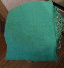 Simply Natural Alpaca Scarf, Emerald, Alpaca/Silk