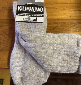 NFP Alpaca Socks, Heavy Boot, Kilimanjaro