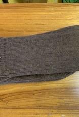 Lanart Alpaca Socks, Brn Heavy Lg