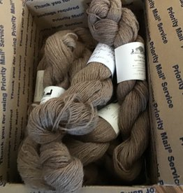 Circus City Alpaca Yarn. Grade 1, Fawn Fingerling