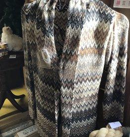Simply Natural Alpaca Sweater,Multi Fawn, ZigZag