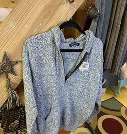Alpaca Mall Alpaca Sweater, Gray Melange, XL