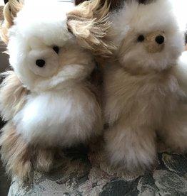 "Andean Art Alpaca Teddy Bears, Mini,5.5"" Mixed Colors"