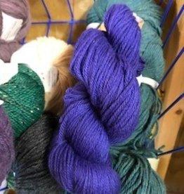 Alpaca Yarn, Bright Purple, DK