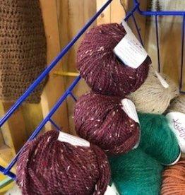 Alpaca Yarn, Blue Blood, Worsted, 50g
