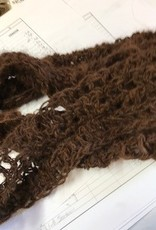 Alpaca Cowl, Suri, Brown
