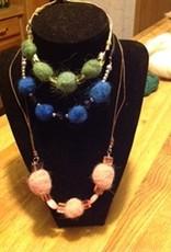 Alpaca Necklaces,  Green