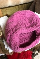 Alpaca Hat, Pink, Slouchy
