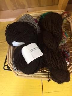 Alpaca Yarn, Dottie, DK, Black 150y