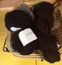 Alpaca Yarn, Dottie, DK, Black 94 y