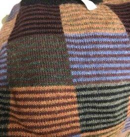 Alpaca Sweater, Varigated XXL Pull Over