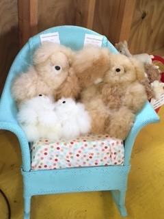 "Alpaca Teddy Bears, 5.5""  MIxed Colors"