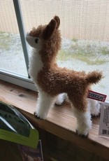 Alpaca, Fawn and White, 6""